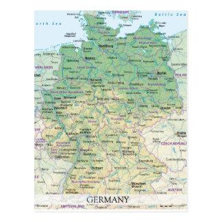 De BRIEFKAARTEN ♥ Duitsland 2 van de KAART Briefkaart