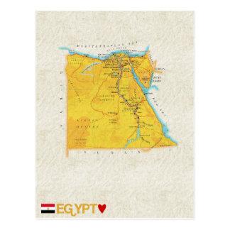 De BRIEFKAARTEN ♥ Egypte van de KAART Briefkaart