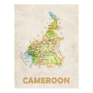 De BRIEFKAARTEN ♥ Kameroen van de KAART Briefkaart
