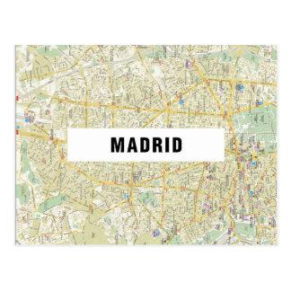 De BRIEFKAARTEN ♥ Madrid van de KAART