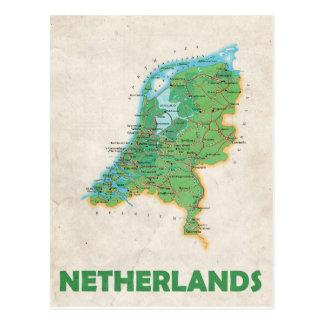 De BRIEFKAARTEN ♥ Nederland van de KAART Briefkaart