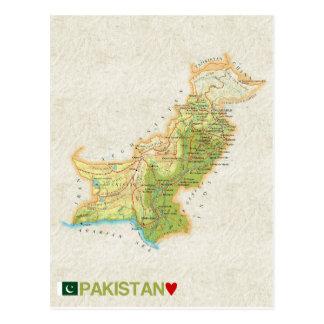 De BRIEFKAARTEN ♥ Pakistan van de KAART