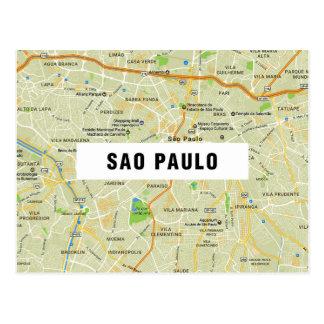 De BRIEFKAARTEN ♥ Sao Paulo van de KAART Briefkaart
