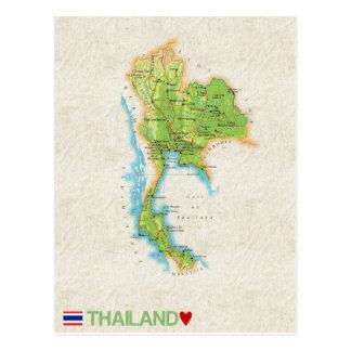 De BRIEFKAARTEN ♥ Thailand van de KAART Briefkaart