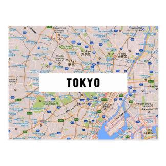 De BRIEFKAARTEN ♥ Tokyo van de KAART