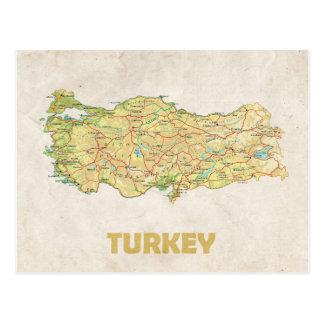 De BRIEFKAARTEN ♥ Turkije van de KAART Briefkaart