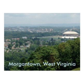 De Briefkaarten van Coliseum Morgantown WV van
