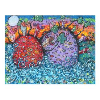 De Briefkaarten van de Harmonie van de kust