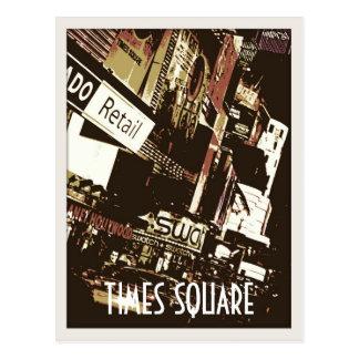 De Briefkaarten van de Kunst van het Times Square Briefkaart