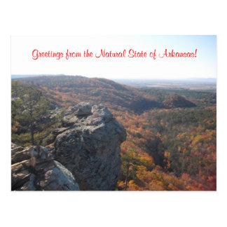 De Briefkaarten van de Natuur van Arkansas