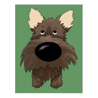 De Briefkaarten van de steenhoop van Terriers