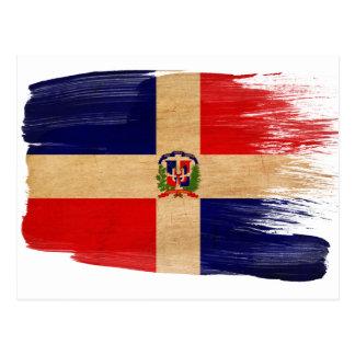De Briefkaarten van de Vlag van de Dominicaanse Briefkaart