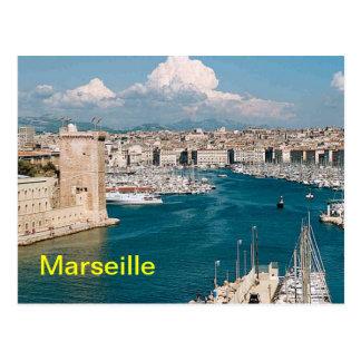 De briefkaarten van Marseille
