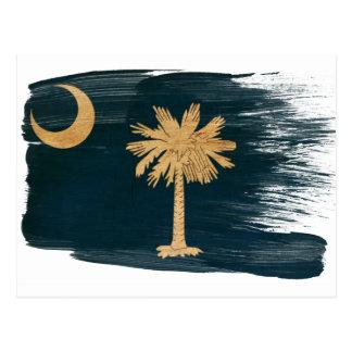 De Briefkaarten Vlag van de Zuid- van Carolina Briefkaart