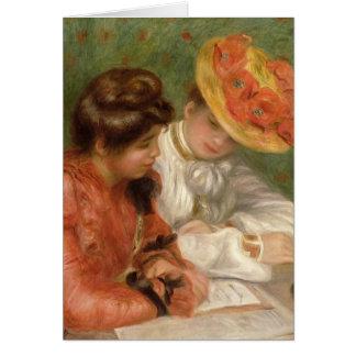 De Briefschrijver van Renoir Kaart