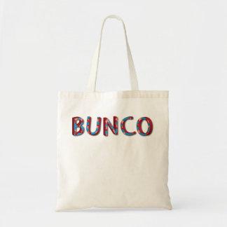 De brieven van Bunco met bunco dobbelen Draagtas