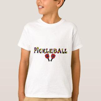 De Brieven van de Kunst van Pickleball T Shirt