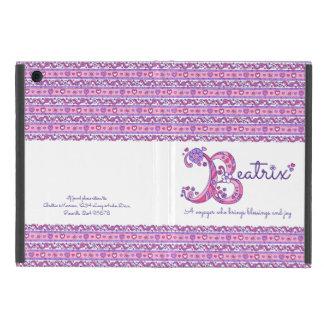 De brievenB hart van Beatrix en van de iPad Mini Hoesje