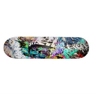 De Brij van Graffiti Skateboard Decks