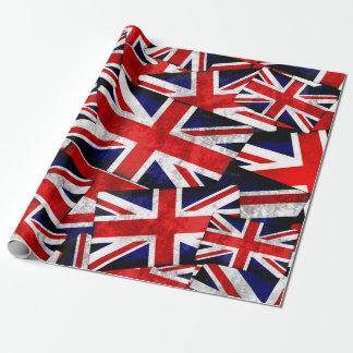 De Britse Engeland het UK Vlag van Union Jack Cadeaupapier