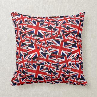 De Britse Engeland het UK Vlag van Union Jack Sierkussen