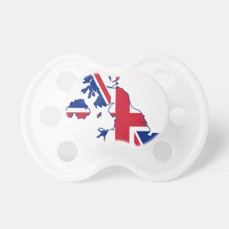 de Britse Kaart van de Vlag Speentjes