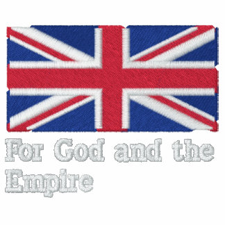 De Britse Kleding van het Imperium - de Britse Bov Geborduurd Fleece Track Jack