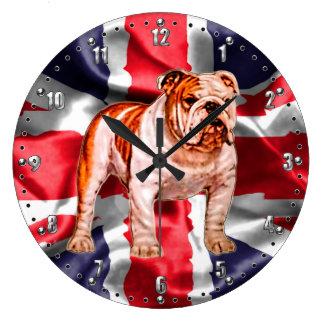 De Britse Klok van de Muur van de Buldog