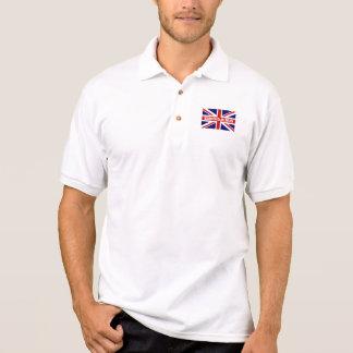 De Britse overhemden van het vlagpolo   ontwerp Polo Shirt