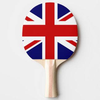 De Britse peddel van de vlagpingpong voor pingpong Tafeltennis Bat
