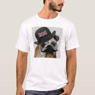 De Britse T-shirt van de Buldog