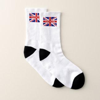 De Britse van de de vlagdouane van Union Jack Sokken