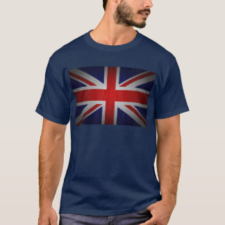 De Britse Vlag van Union Jack plus de t-shirt van