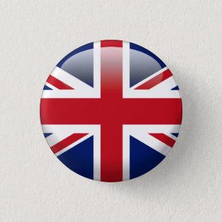 De Britse Vlag van Union Jack Ronde Button 3,2 Cm