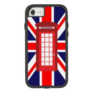 De Britse vlag van Union Jack van de telefoondoos Case-Mate Tough Extreme iPhone 8/7 Hoesje