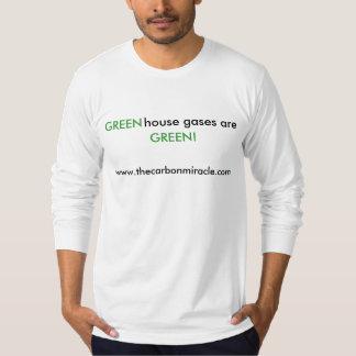 De Broeikasgassen zijn Groen T Shirt