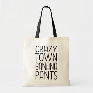 De Broek van de Banaan van Crazytown Draagtas