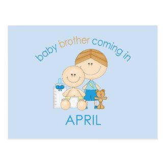 De Broer van het Baby van de grote Broer Gepast in Briefkaart
