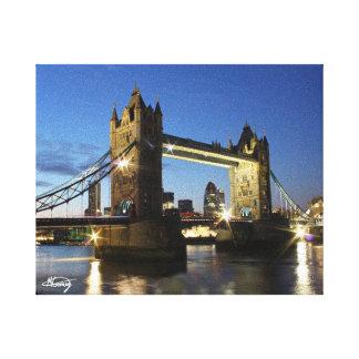 De Brug Londen van de toren Canvas Afdruk
