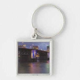 De brug Morrison over de rivier Willamette Sleutelhanger