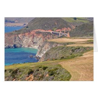 De Brug van Bixby; Grote Sur, Californië Briefkaarten 0