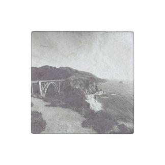 De Brug van Bixby, Grote Sur, Californië de V.S. Stenen Magneet