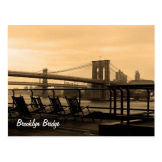 De Brug van Brooklyn Briefkaart