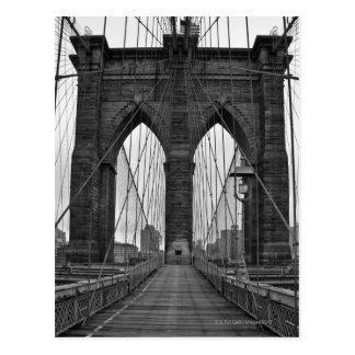De brug van Brooklyn in de Stad van New York