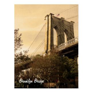 De Brug van Brooklyn van Brooklyn Briefkaart