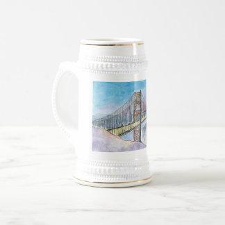 De Brug van de Baai van San Francisco-Oakland Bierpul