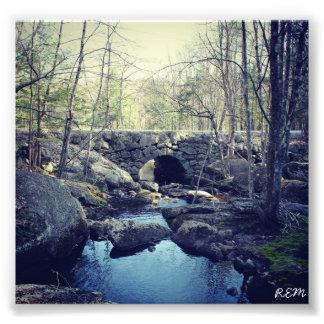 De Brug van de Boog van de steen, Hillsboro Van Ne Foto Afdruk