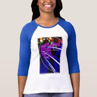 De brug van de cello met spiraal Fibonacci T Shirt