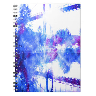 De Brug van de Dromen van de minnaar aan overal Notitieboek