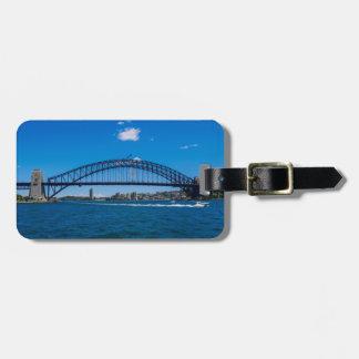 De Brug van de Haven van Sydney Bagagelabel